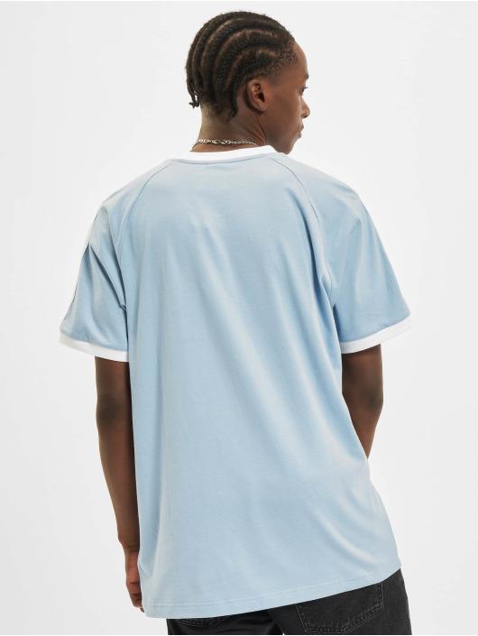adidas Originals T-Shirty 3-Stripes niebieski