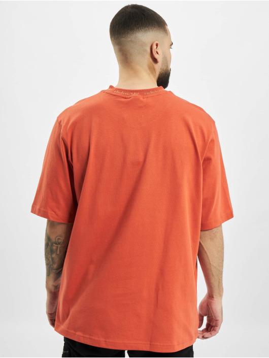 adidas Originals T-Shirty Rib Detail pomaranczowy