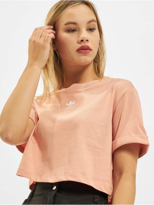 adidas Originals T-Shirty Originals pomaranczowy