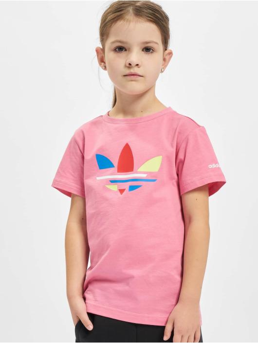 adidas Originals T-Shirty Originals rózowy