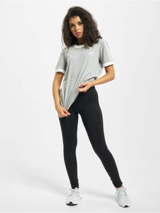 adidas Originals T-Shirty 3 Stripes szary