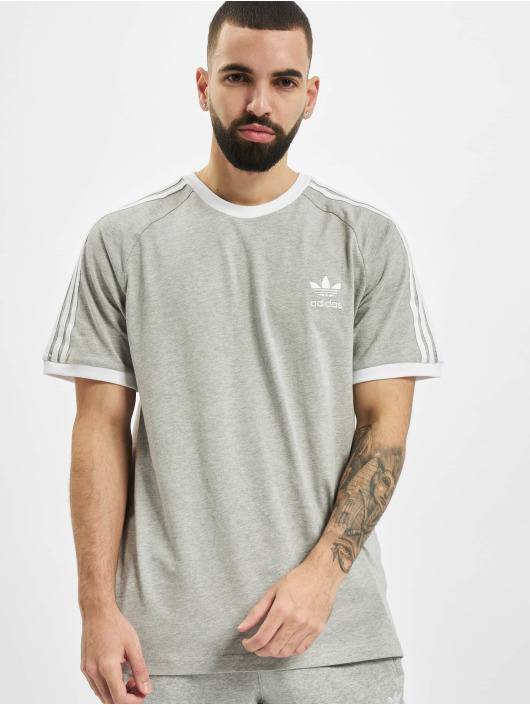 adidas Originals T-Shirty 3-Stripes szary