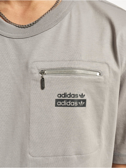 adidas Originals T-Shirty R.Y.V. szary