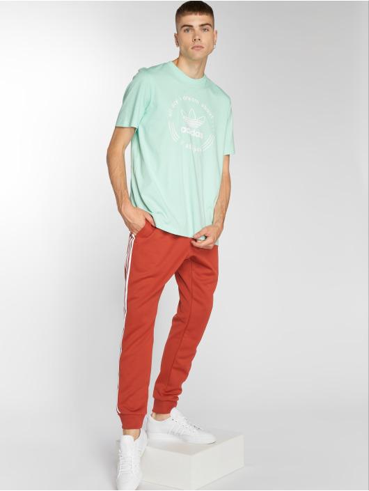 adidas originals T-Shirty Hand Drawn T4 zielony