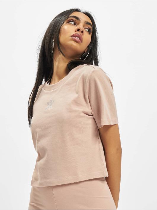 adidas Originals T-skjorter Cropped beige