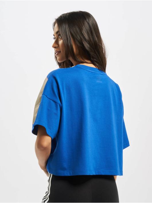 adidas Originals T-skjorter Big Trefoil blå