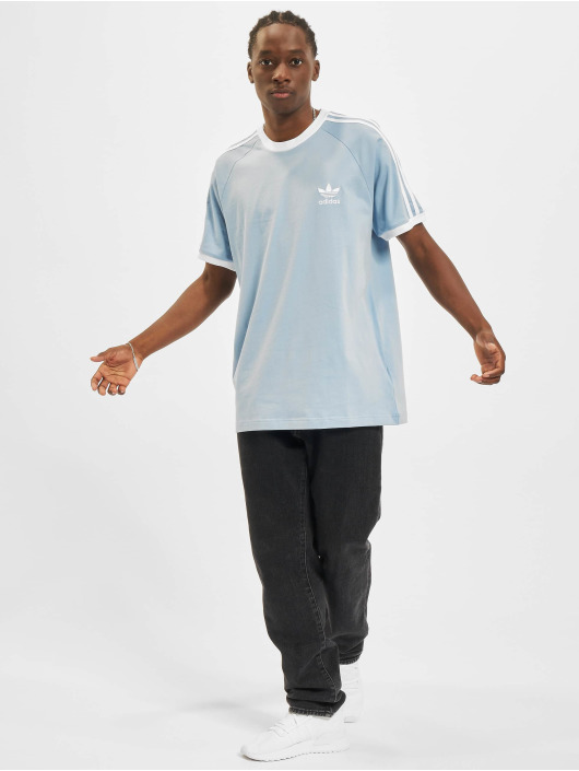 adidas Originals T-skjorter 3-Stripes blå