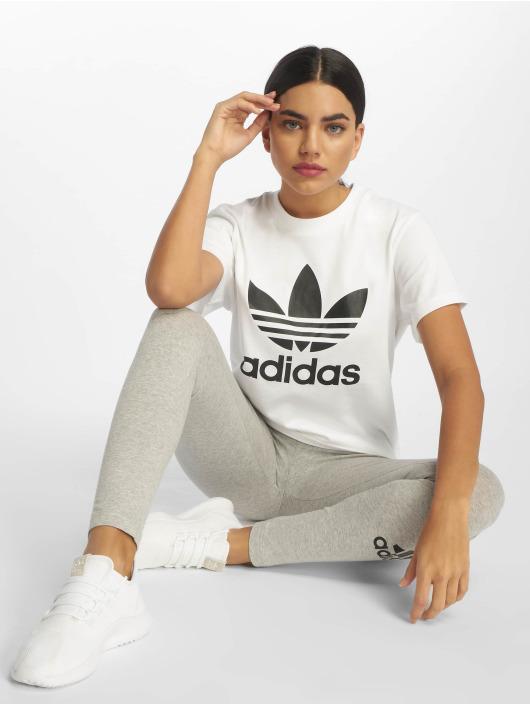 adidas Originals T-skjorter Boyfriend hvit