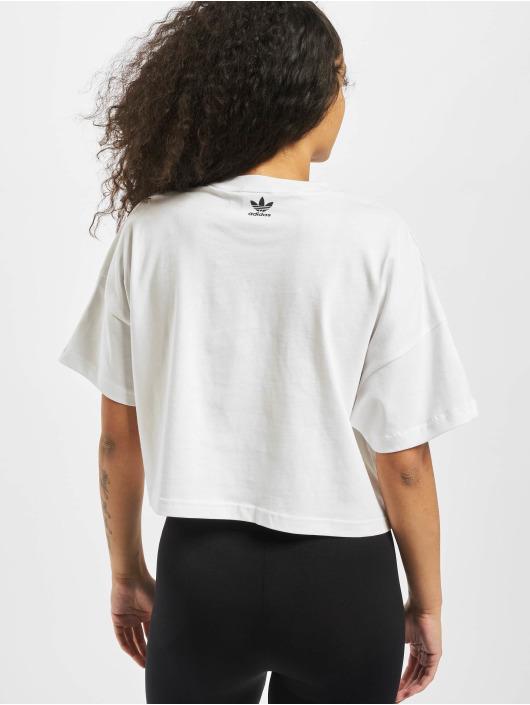 adidas Originals T-skjorter LRG Logo hvit
