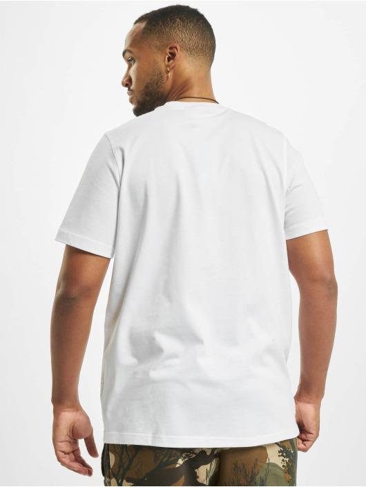 adidas Originals T-skjorter Camo Trefoil hvit