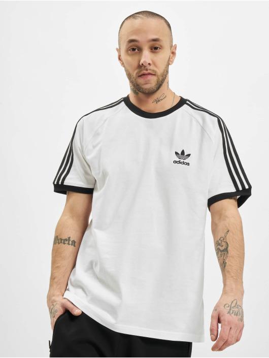 adidas Originals T-skjorter 3-Stripes hvit