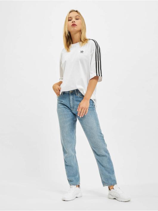adidas Originals T-skjorter Oversized hvit