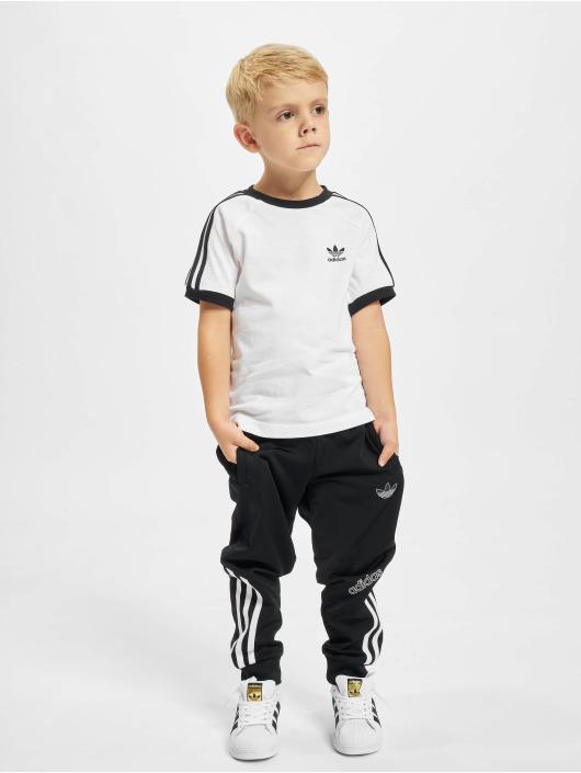 adidas Originals T-skjorter 3stripes hvit