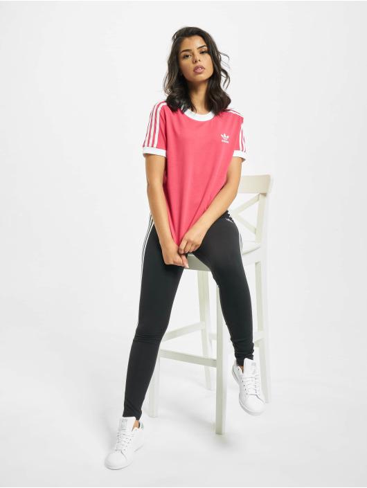 adidas Originals T-skjorter 3 Stripes lyserosa