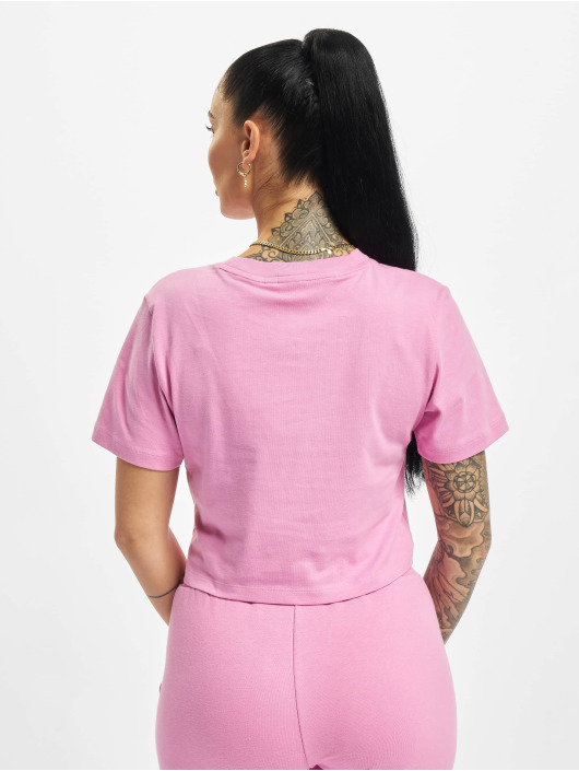 adidas Originals T-skjorter Cropped lyserosa