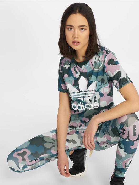 adidas originals T-skjorter Trefoil mangefarget