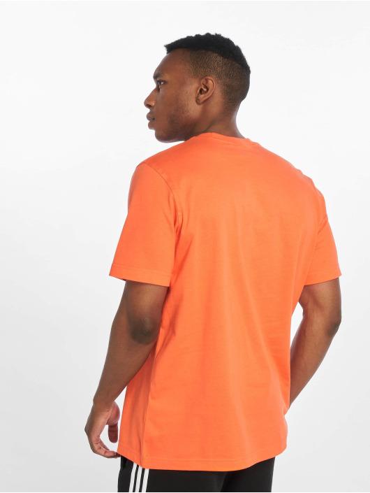 adidas Originals T-skjorter Trefoil oransje
