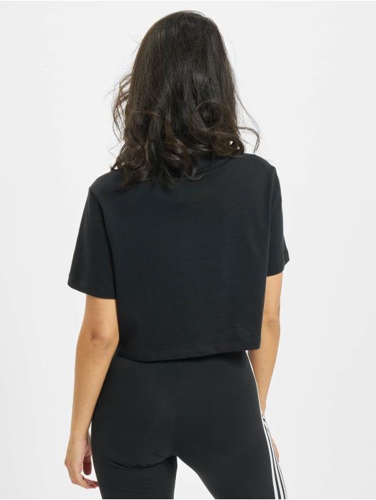 adidas Originals T-skjorter Cropped svart