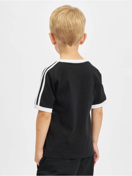 adidas Originals T-skjorter 3stripes svart