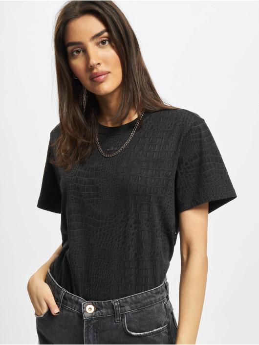 adidas Originals T-skjorter Snake svart