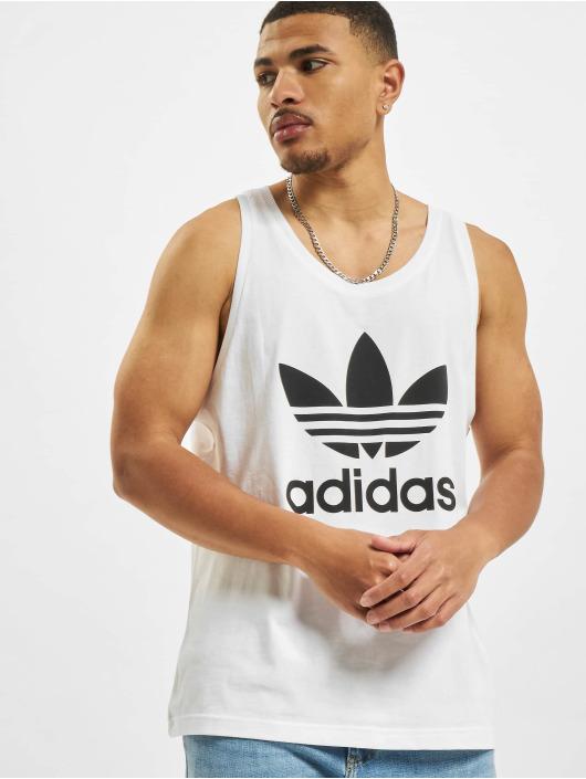 adidas Originals Tank Tops Trefoil biela