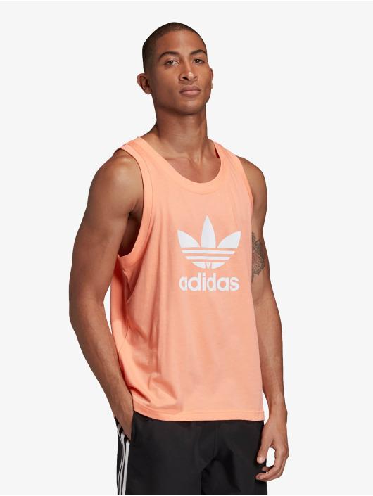adidas Originals Tank Tops Trefoil orange