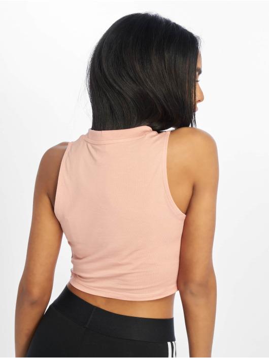 adidas Originals Tank Tops Crop rosa