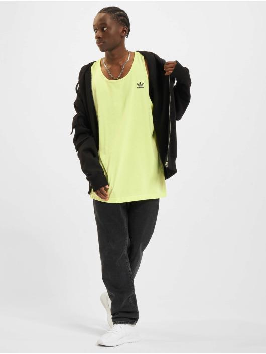 adidas Originals Tank Tops Essentials zólty