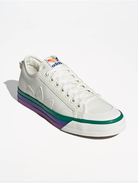 adidas originals Tennarit Nizza Pride valkoinen