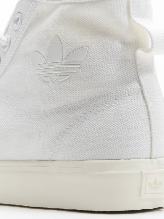 adidas Originals Tennarit Nizza Hi valkoinen