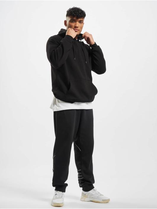 adidas Originals tepláky Big Trefoil Outline èierna