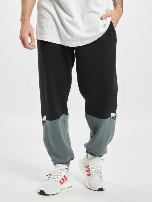 adidas Originals tepláky Slice Trefoil èierna