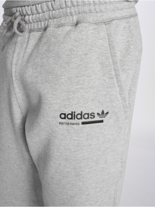adidas Originals tepláky Kaval šedá