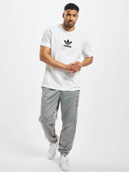 adidas Originals tepláky Zeno šedá