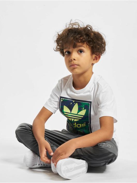 adidas Originals tepláky Trefoil šedá