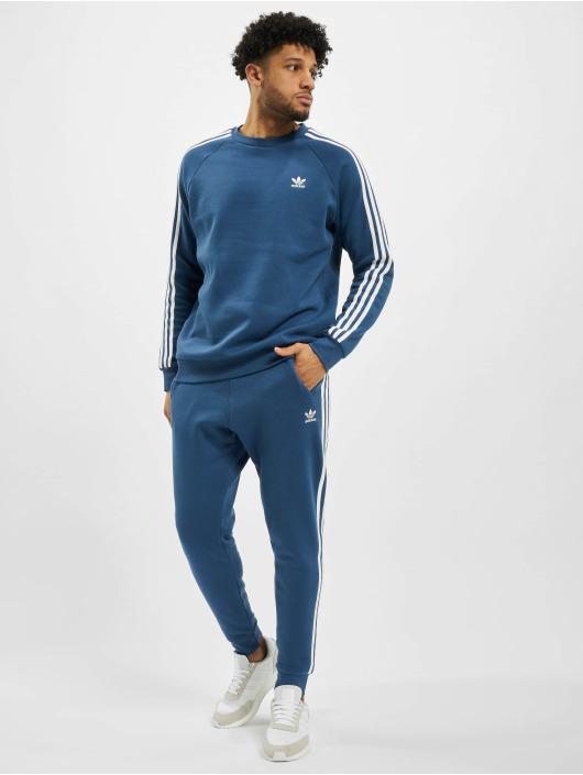 adidas Originals tepláky 3-Stripes modrá
