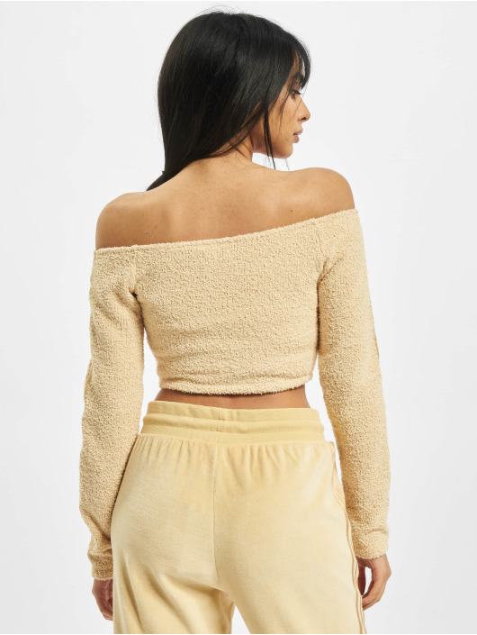 adidas Originals top Crop beige