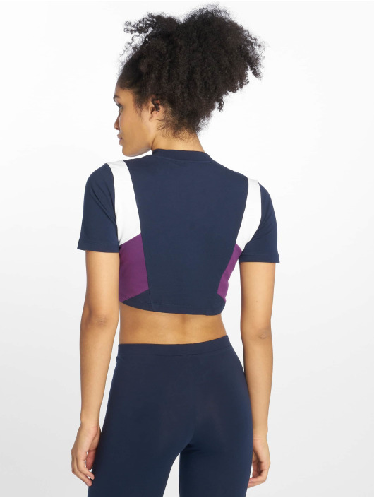 adidas originals top Cropped blauw