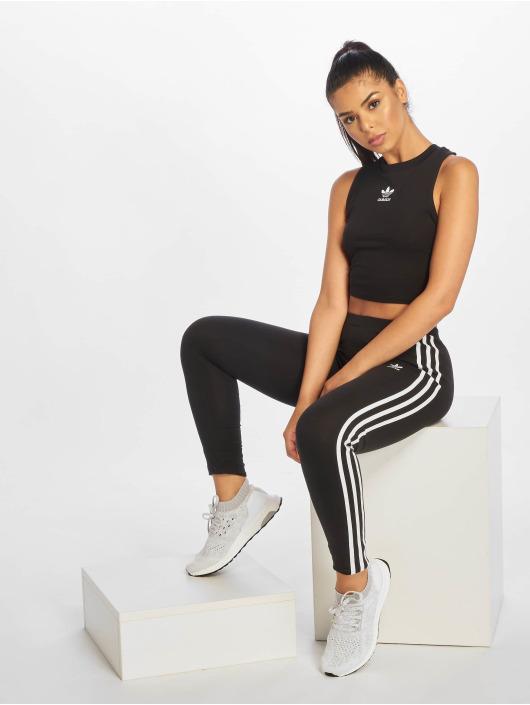 adidas Originals Top Crop schwarz