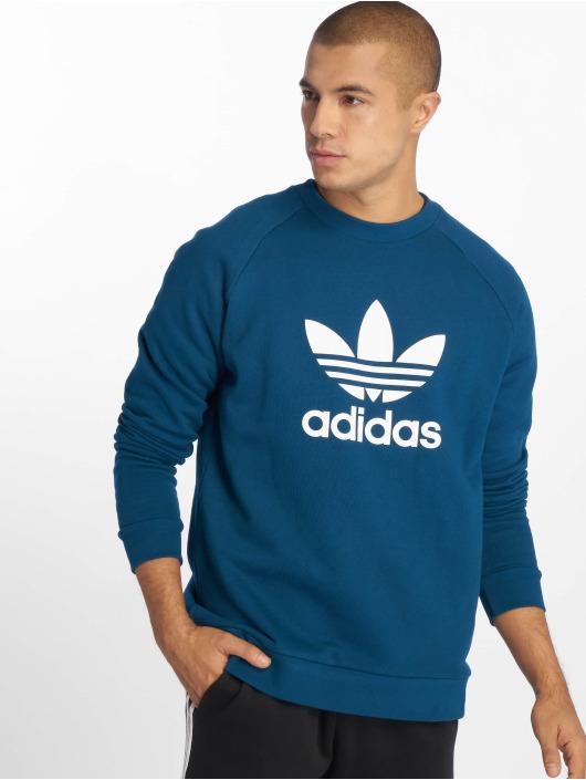 adidas blå trøje