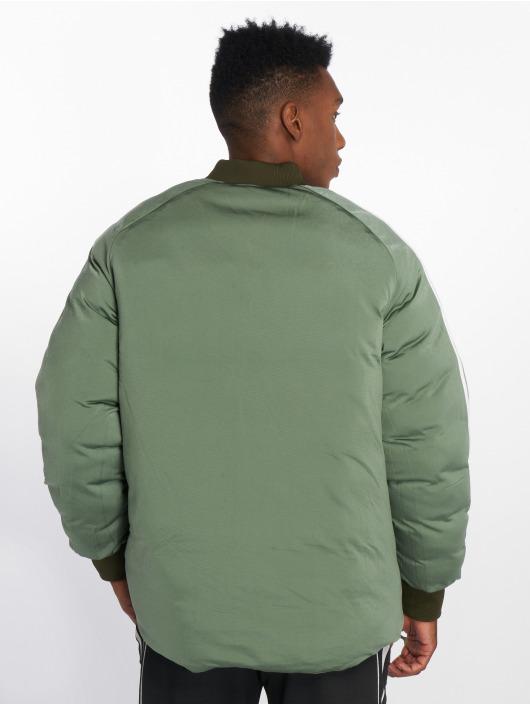 adidas originals Transitional Jackets Sst Reverse oliven