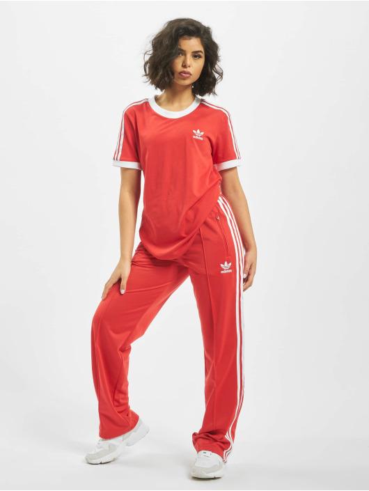 adidas Originals Tričká 3-Stripes èervená