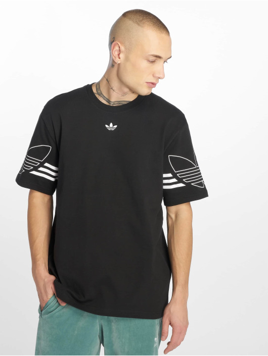 adidas originals Tričká Outline èierna