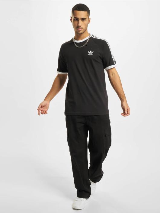 adidas Originals Tričká 3-Stripes èierna