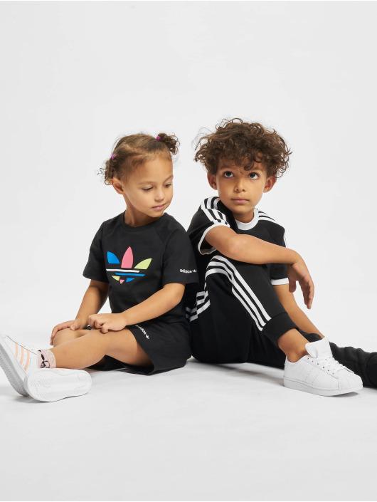 adidas Originals Tričká 3stripes èierna