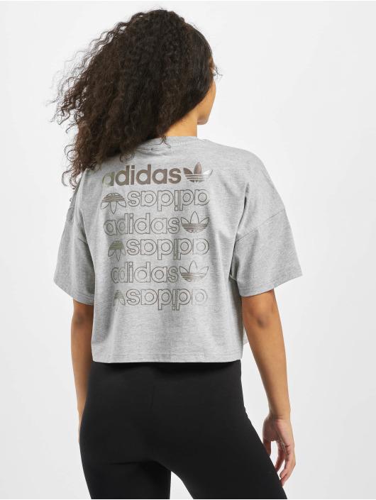 adidas Originals Tričká LRG Logo šedá
