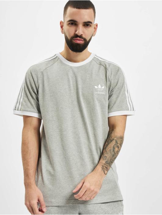adidas Originals Tričká 3-Stripes šedá