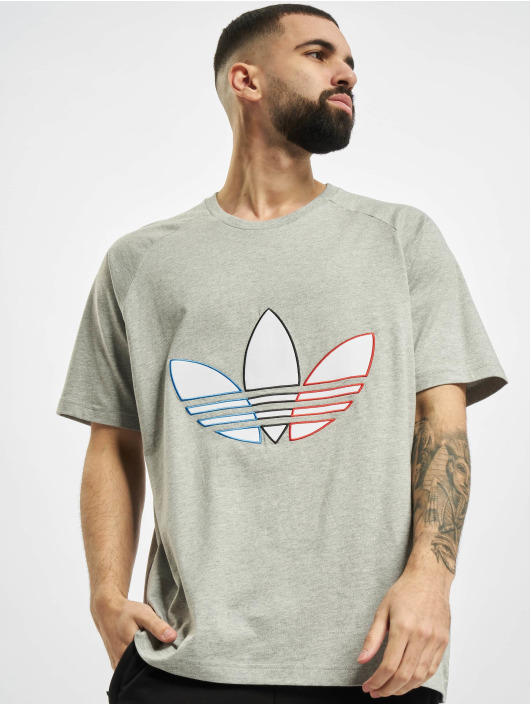 adidas Originals Tričká Tricolor šedá