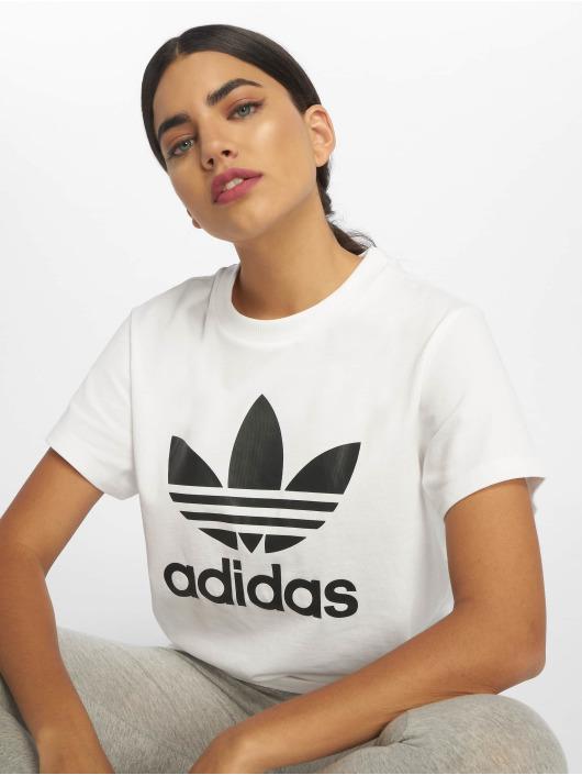 adidas Originals Tričká Boyfriend biela
