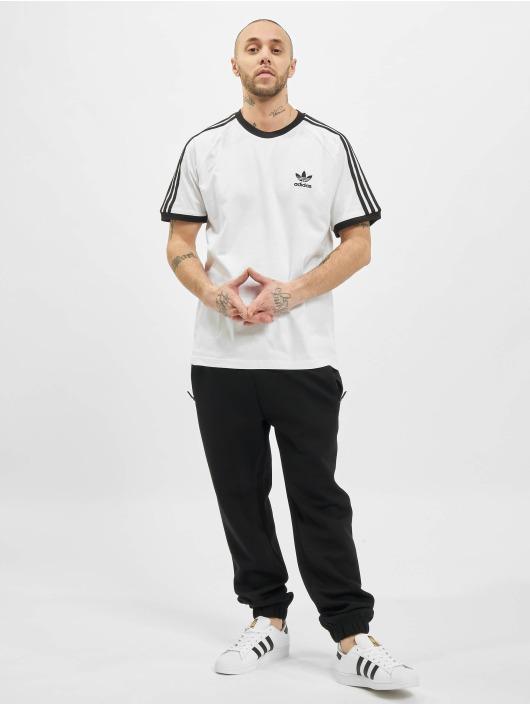 adidas Originals Tričká 3-Stripes biela